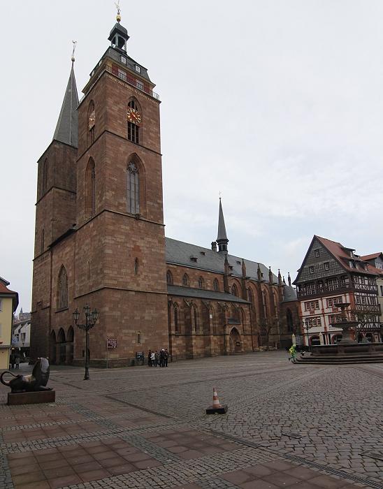 Stiftskirche Neustadt An Der Weinstrasse Rheinland Pfalz